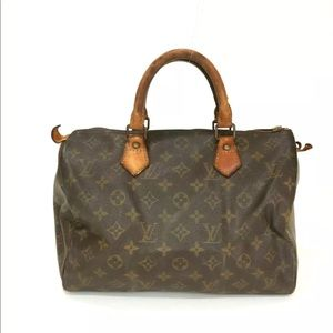 🌺LOUIS VUITTON Vintage Speedy Bag with flaws!